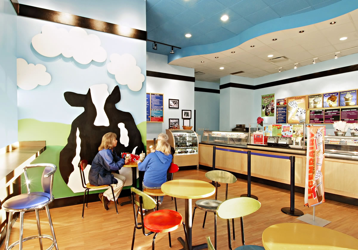 Cypress Contracting build-out for Ben & Jerry at National Harbor
