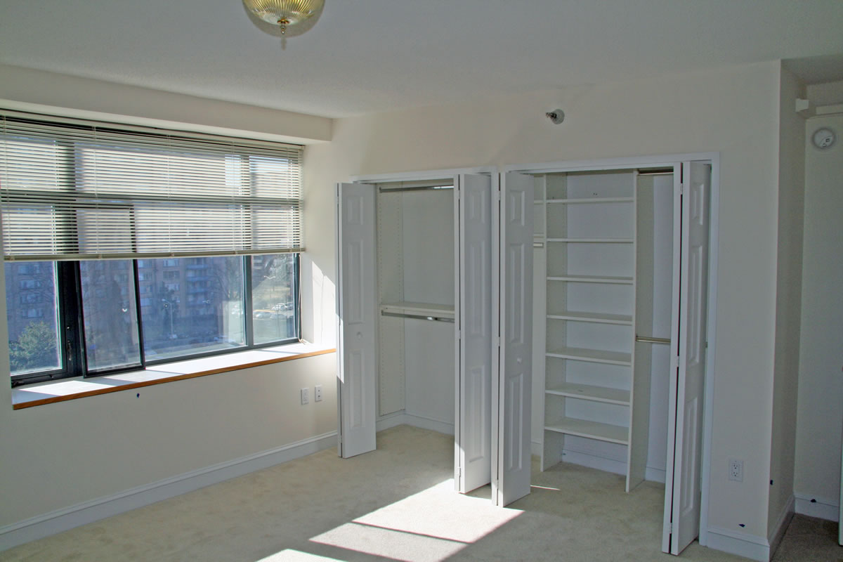 Storage renovation within Goodwin House apartment