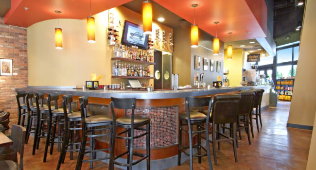 Cypress Contracting build-out of Mayorga Coffee store at National Harbor